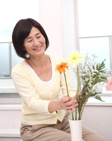 蒲田 レンタルスタジオの語学教室 生け花の画像