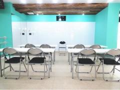 大田区 蒲田 教室開催 子供向け能力開発 英語教室 長机 パイプいす